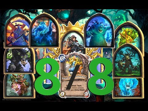 THE BEST DECK / WITCHHUNT / DEFEATING 8/8 MONSTERS / Hearthstone The Witchwood Gameplay #2