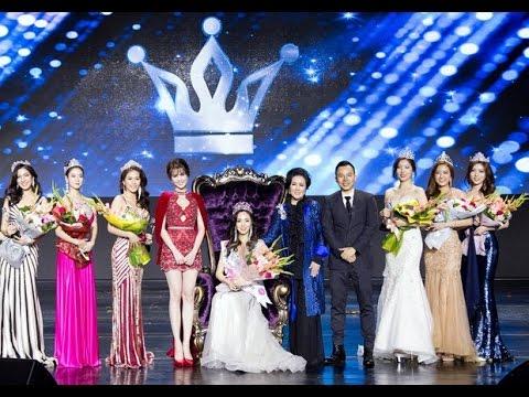 Ngọc Trinh nổi bật giữa dàn thí sinh Hoa hậu Hàn Quốc 2016