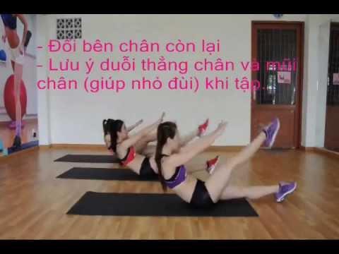 Thể dục thẩm mỹ - bài tập bụng - p1 - Vóc Dáng Hoàn Hảo