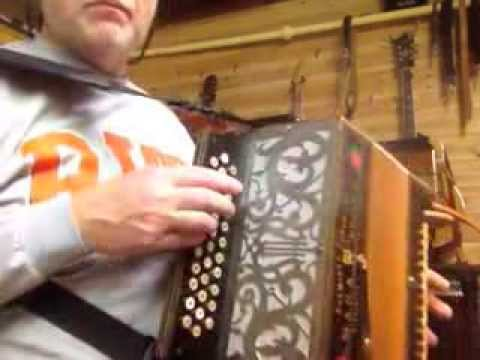 Maga Ercole button accordion in GCB with Stradella bass