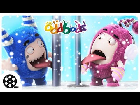 Christmas | SNOW FUN With Oddbods | Funny Cartoons For Children