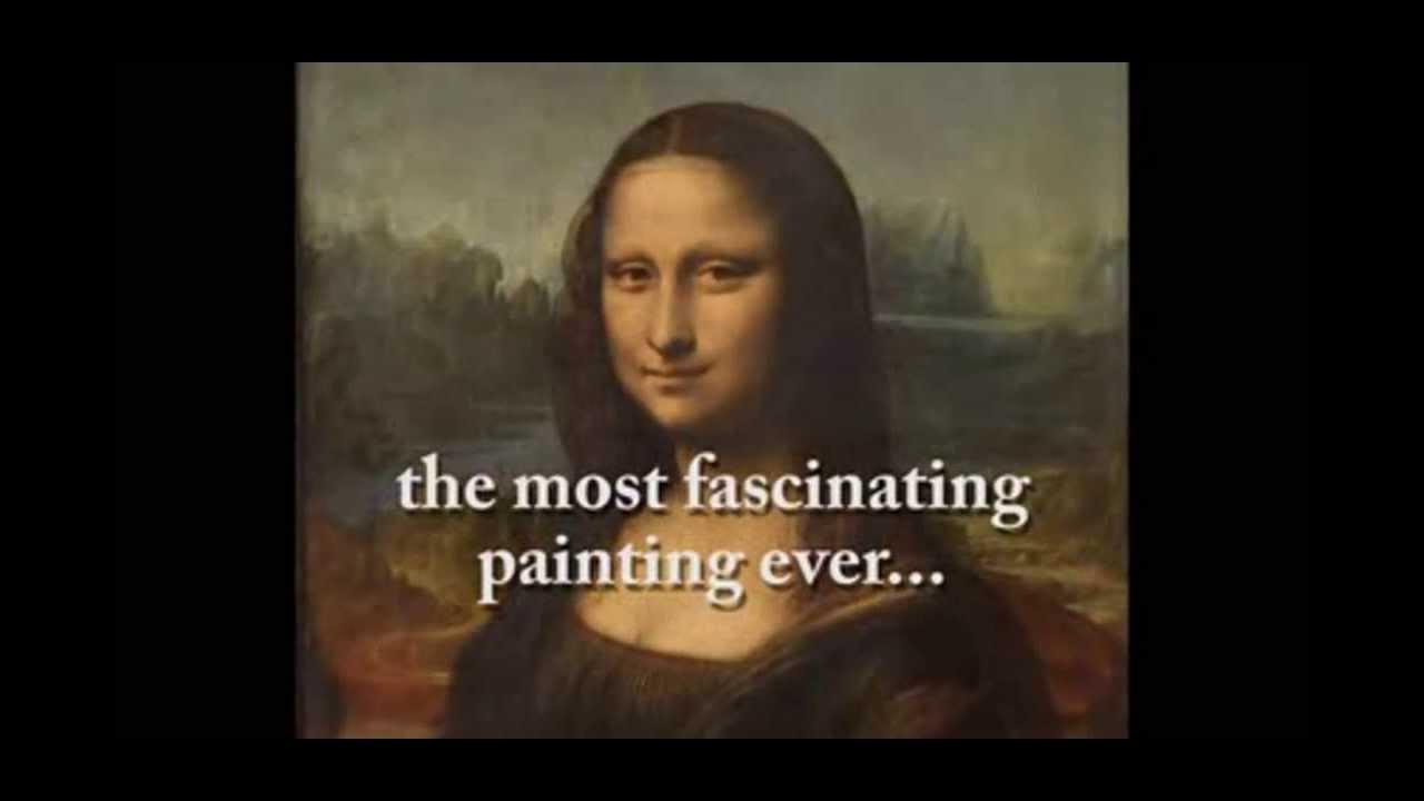 Mona Lisa Painting Mystery Secret Message by Leonardo Da ... Da Vinci Paintings Hidden Messages