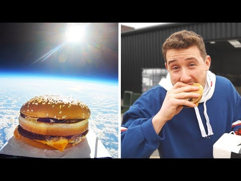 first McDonalds in space