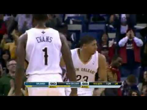 Anthony Davis - New Orleans Pelicans vs Orlando Magics
