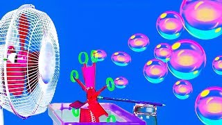 16 SUMMER CRAFTS || DIY SOAP BUBBLE MACHINE
