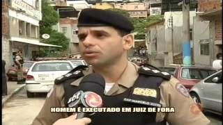 Homem � executado em JF - Alterosa em Alerta - 20/10