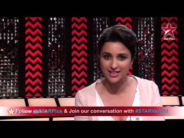 A special message from Parineeti Chopra from the sets of STAR Verdict!