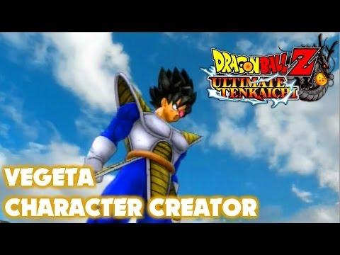 DBZ Ultimate Tenkaichi - Vegeta vs Vegeta - Character Creator (Hero