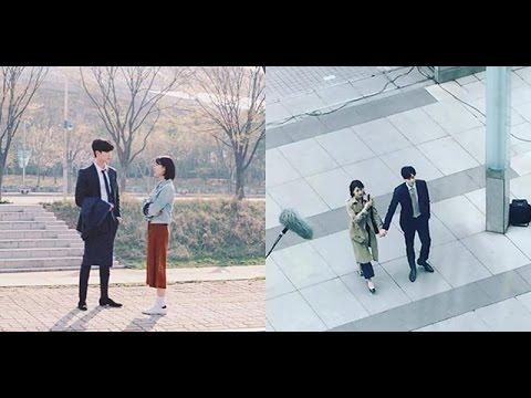 Suzy tay trong tay Lee Jong Suk,