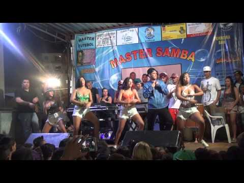 As meninas do funk e Mc Brunyn - na praça do Rio Das Pedras