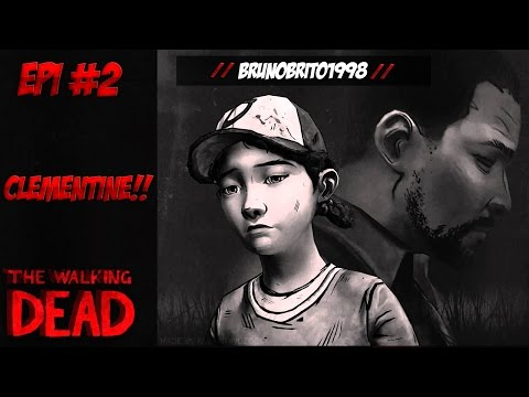 The Walking Dead O Game # 2 Conhecendo a Clementine