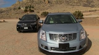 2013 Cadillac SRX vs Lexus RX 350 F-Sport 0-60 MPH Mile High Mashup Review videos