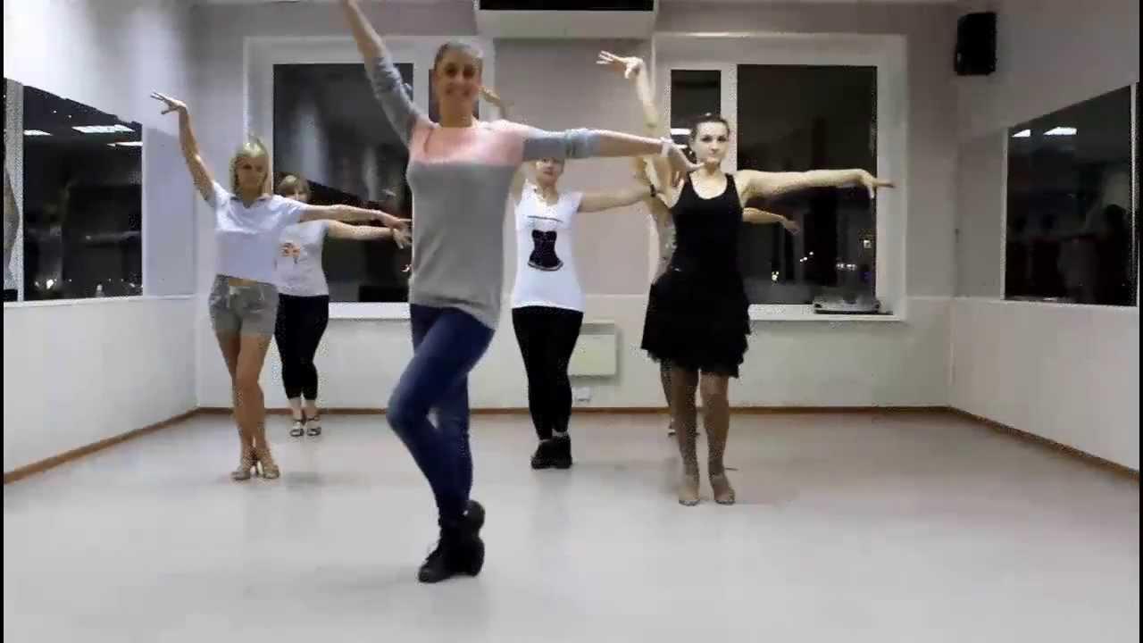 Видео  Латина соло (Latina solo) для начинающих от Нины Ильиновой.