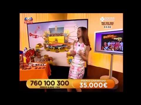 Delfim Junior & Ympério Show  na sic sextas magicas com a dança da galinha