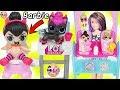 LOL Surprise Dolls Lil Sisters Meet Skipper the Babysitter Wave 2 Pets Barbie Shops Toy Video