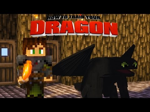 Minecraft - HOW TO TRAIN YOUR DRAGON 2 - [17] 'New Dragon Names!'