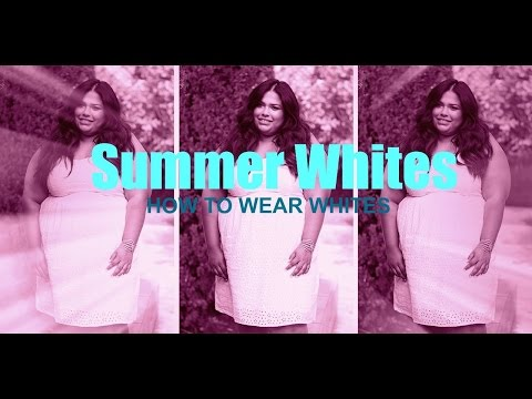 SUMMER WHITES: How to wear white