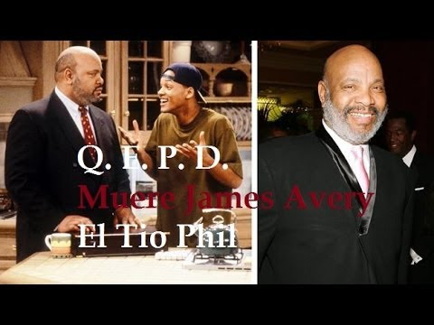 Muerte de James Avery Tio Phil