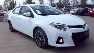 2014 Toyota Corolla S Plus Start Up, Exterior/ Interior