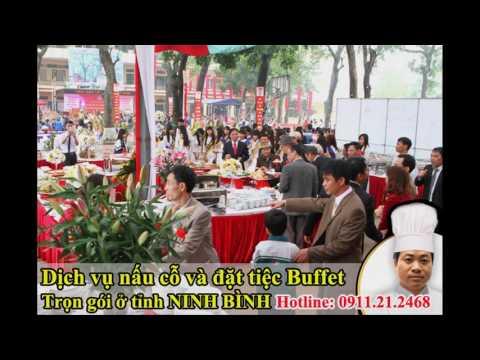 Dịch vụ đặt tiệc buffet giá rẻ ở Ninh Bình