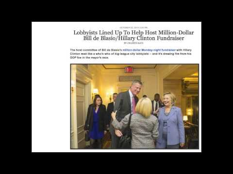 Corrupting Influence of Money and Lobbyists in New York City and State Politics