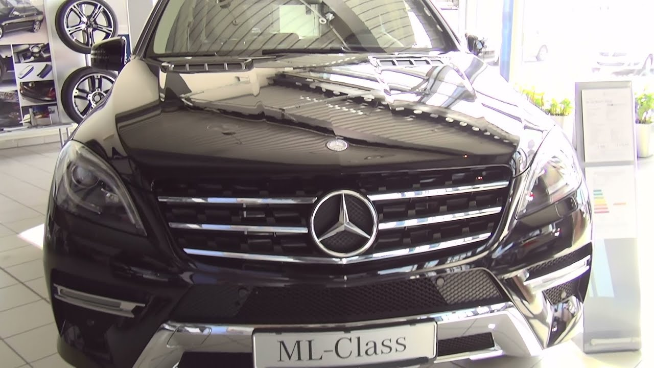 mercedes benz ml 250 bluetec 4matic exterior and interior in full hd 3d youtube. Black Bedroom Furniture Sets. Home Design Ideas