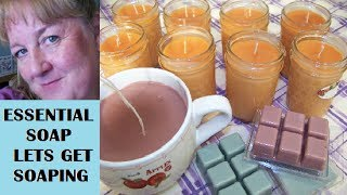 How To Make Soy Candles And Tart Melts Tutorial With