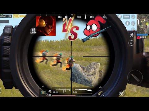 Sniper Spoidermon vs FLASH | PUBG Mobile