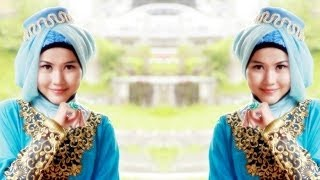 Tutorial Hijab Pesta Paris Lady-Like Model Kerudung