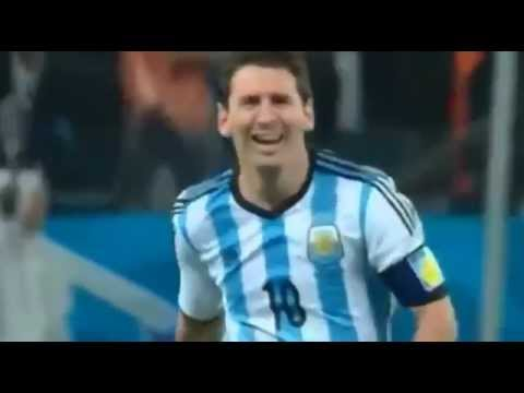Lionel Messi Hilarious Crying After Argentina Wins ( Road to FINAL World Cup 2014 )