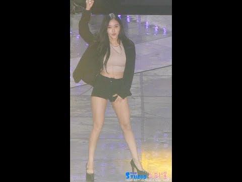 170909 티아라 '러비더비 + 롤리폴리' 직캠 T-ARA Hyomin fancam - Lovey Dovey, Roly Poly by Spinel