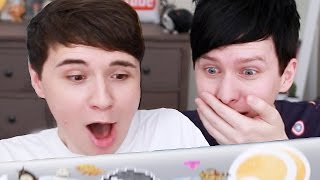 Dan and Phil React to #DAPGO Memes!