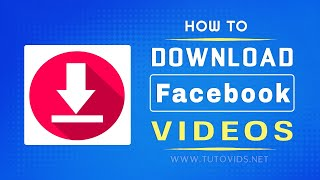 How To Download Facebook Videos [without Using Any