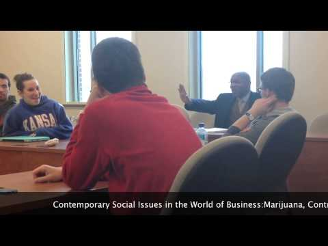 Contemporary Issues in the World of Business: Marijuana, Contraception, and Same Sex Marriage
