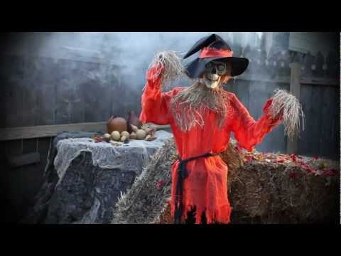 Halloween decorations playlist for Animated scarecrow decoration
