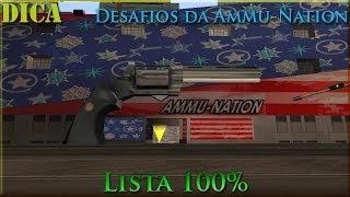 GTA San Andreas D&C ''Dica. Desafios Da Ammu-Nation