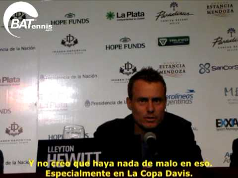 Lleyton Hewitt en Argentina
