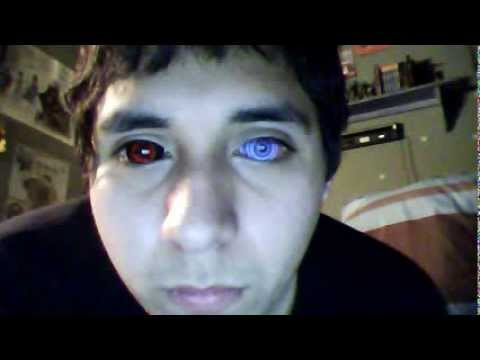 9mmSFX Rinnegan & Edo Itachi Sharingan contacts - YouTube