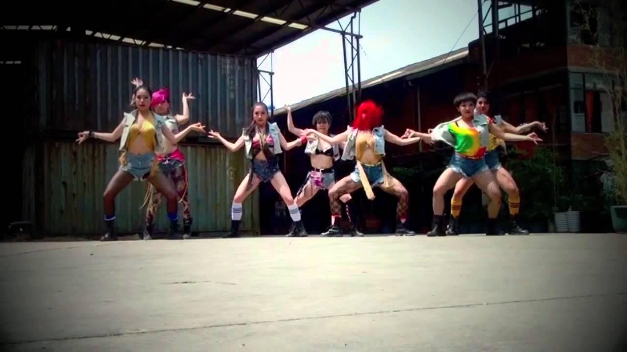 dangsters dance crew china bad girl m i a youtube. Black Bedroom Furniture Sets. Home Design Ideas
