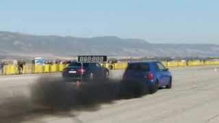 VW Lupo TDI New Record 11,497 @ Sliven Drag Racing 06.10.2013