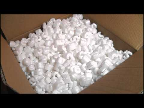 39. 3D Polystyrene Packaging (Binaural - Wear Headphones!) - SOUNDsculptures (ASMR)