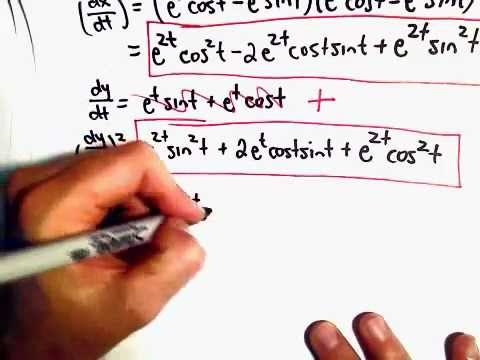 Find Arc Length of a Curve Given Parametric Equations , x(t) , y(t) , Ex 2