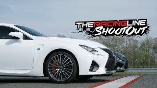 Track Battle! Randy vs Justin in the Lexus RC F, GS F & LC 500 - The Racing Line Shootout. MotorTrend.