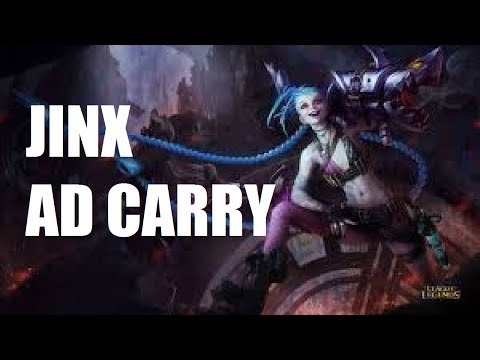 League of Legends - Jinx AD Carry - Full Game Commentary