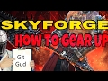 Skyforge PS4 How To Gear Up Best Places To Farm Gear