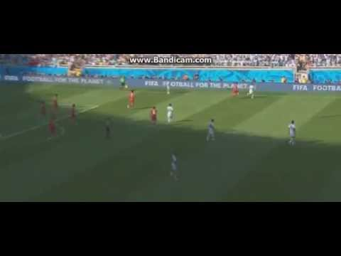 Messi AMAZING Goal against Iran WORLD CUP 2014   21 06 2014