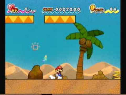 super paper mario walkthrough 1 3 youtube