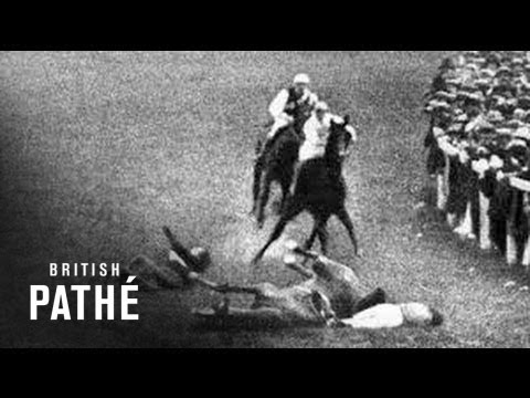 Emily Davison Throws Herself Under The Kings Horse (1913)