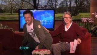 Ellen's Executive Producers Practice Ventriloquism