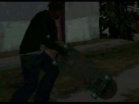 How to get a skateboard in Grand theft auto San Andreas